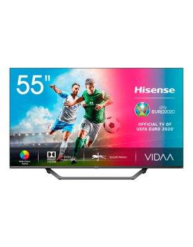 "Televisão Plana Hisense Série A7500F SmartTV 55"" LED 4K UHD"