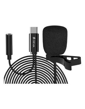 Microfone Smart Series C/Fio Devia Type-C Preto