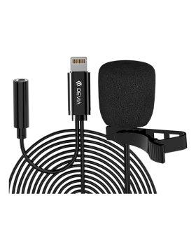 Microfone Smart Series C/Fio Devia Lightning Preto