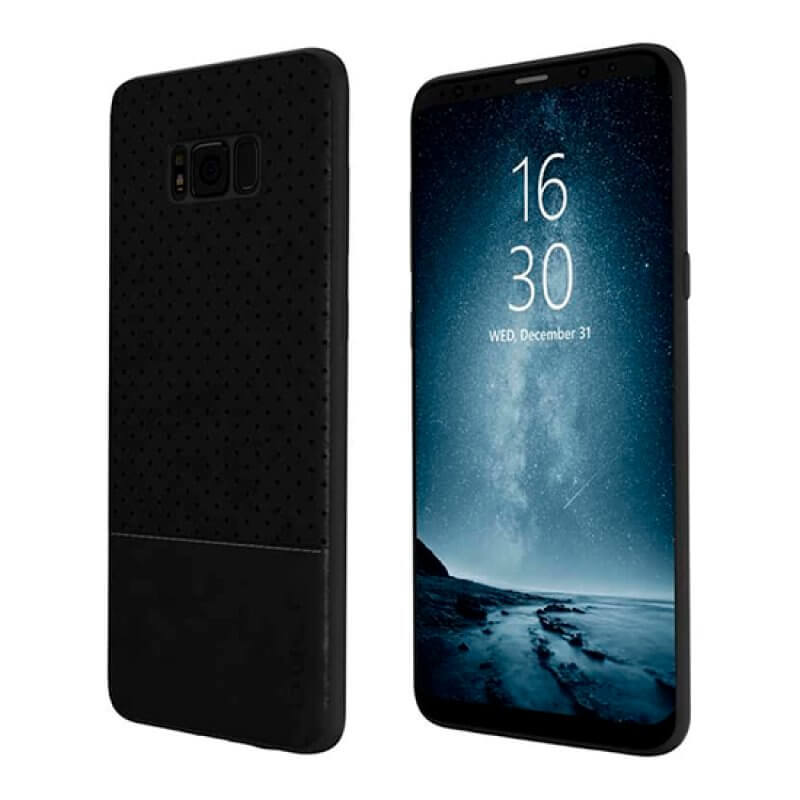 Back Case Qult Drop Samsung Galaxy S8 - Preto