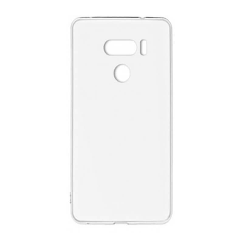 Capa silicone LG V30 - Transparente