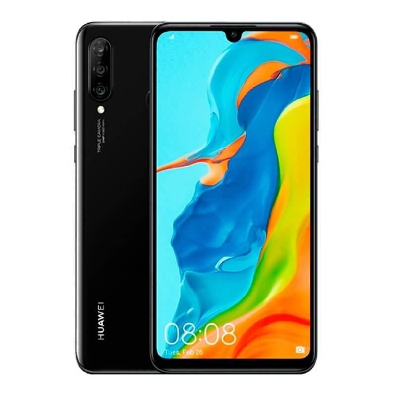 Huawei P30 Lite 4GB/128GB Dual Sim - Preto Meia-Noite