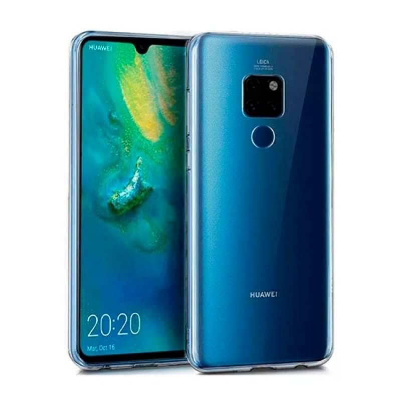 Capa silicone Huawei Mate 20 - Transparente