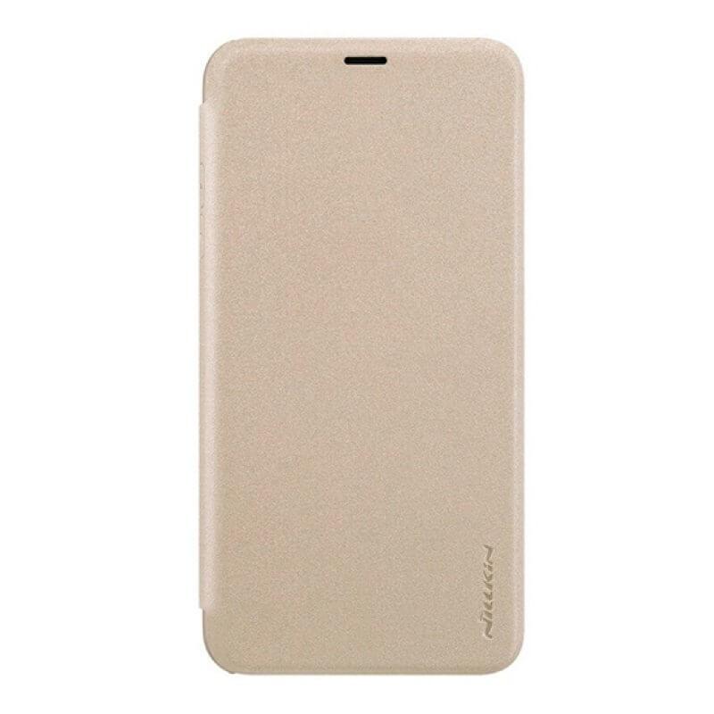 Leather Case Nillkin Apple iPhone Xr - Dourado