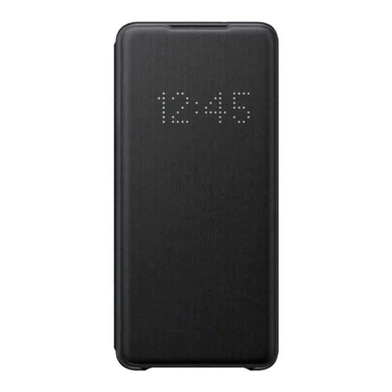 Led View Cover Samsung S20+ G985 - Preto