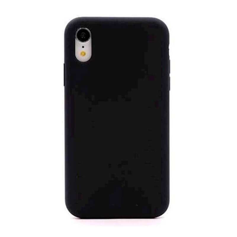 Capa Silicone Nature Devia iPhone Xr - Preto