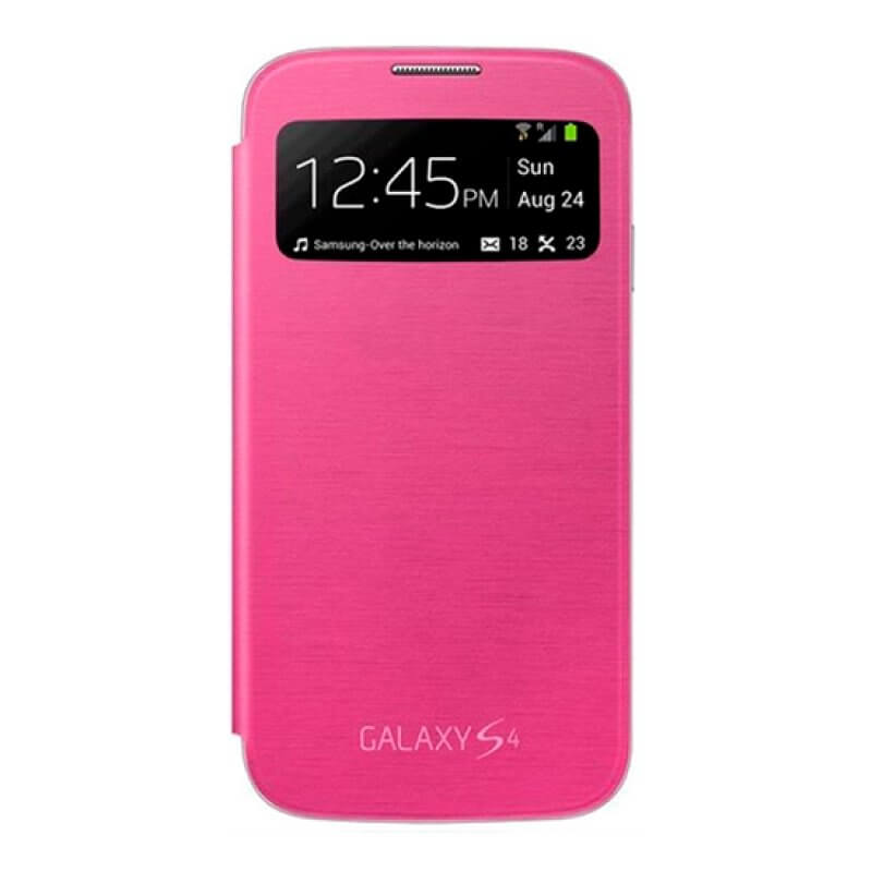 S-View Cover Samsung S4 i9505 - Rosa