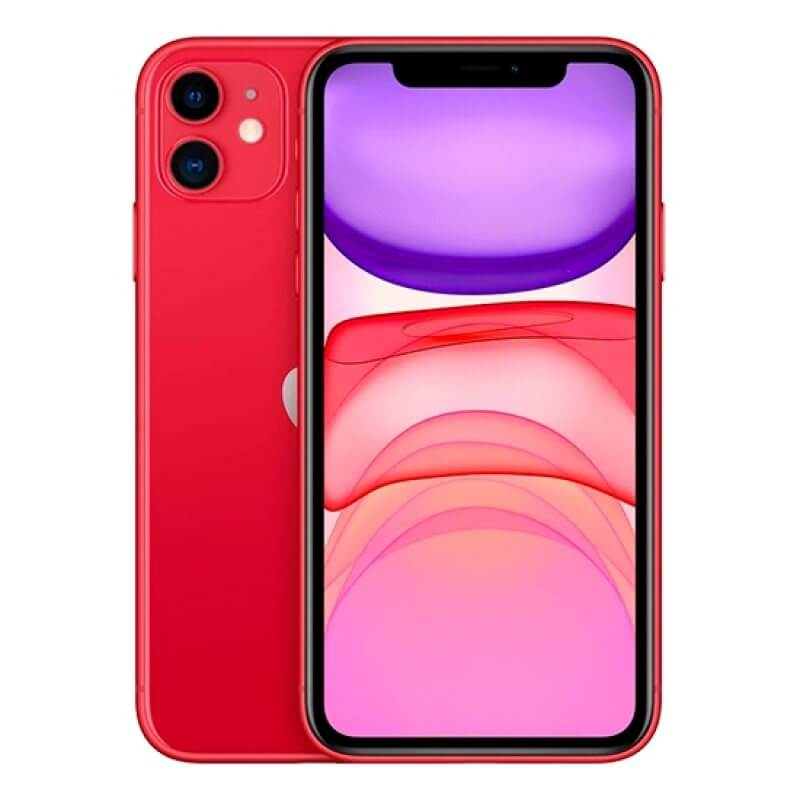 Apple iPhone 11 64GB - Vermelho