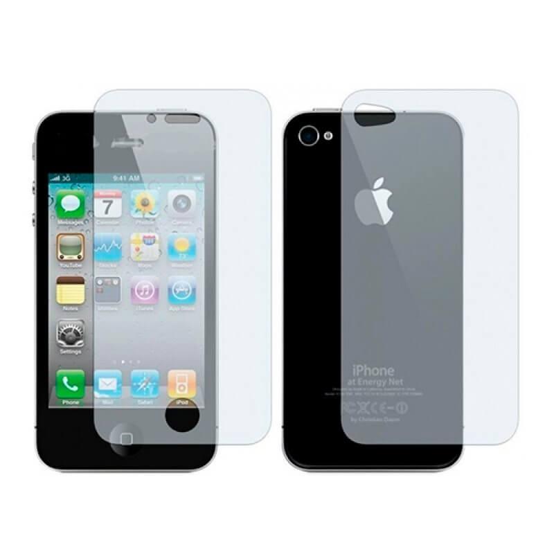 Vidro temperado iPhone 4 e 4S - Frente/Tras