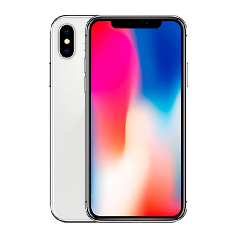 Apple iPhone X 256GB - Prateado