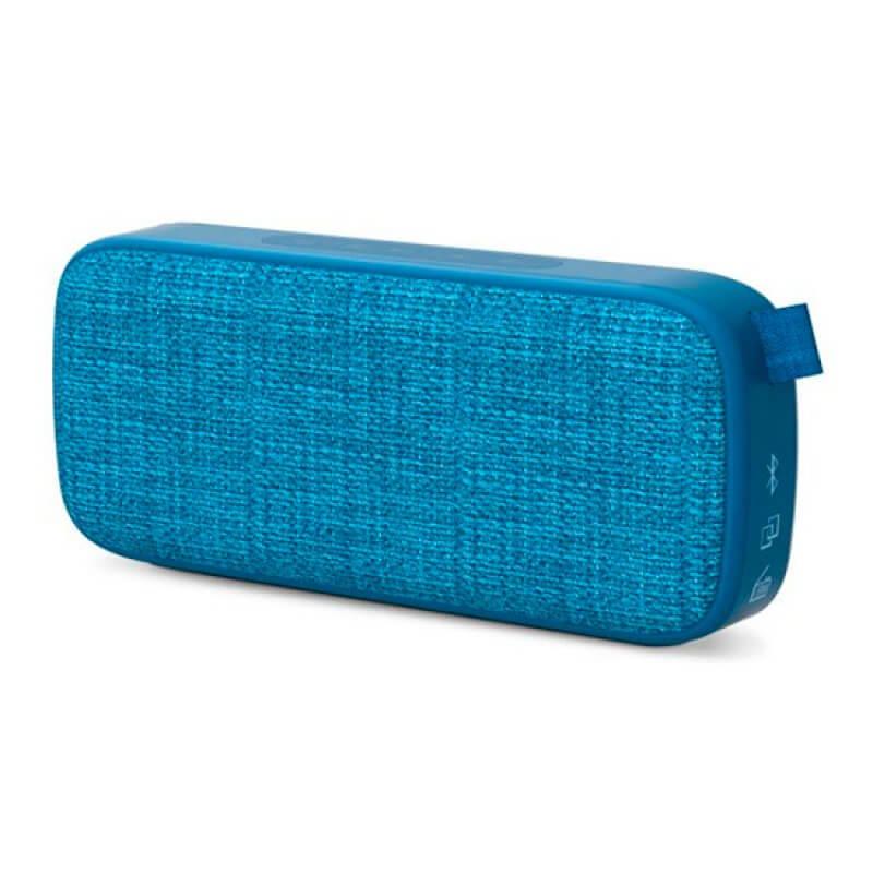 Coluna Bluetooth Energy Fabric Box 3 6W Azul