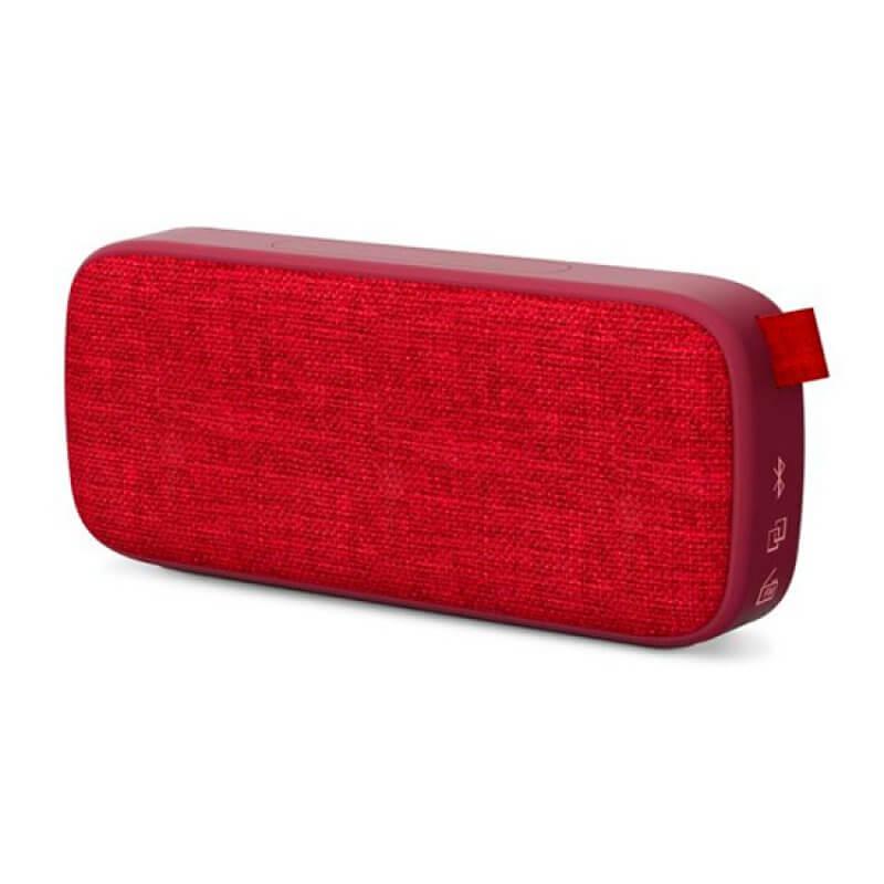 Coluna Bluetooth Energy Fabric Box 3 6W Vermelho