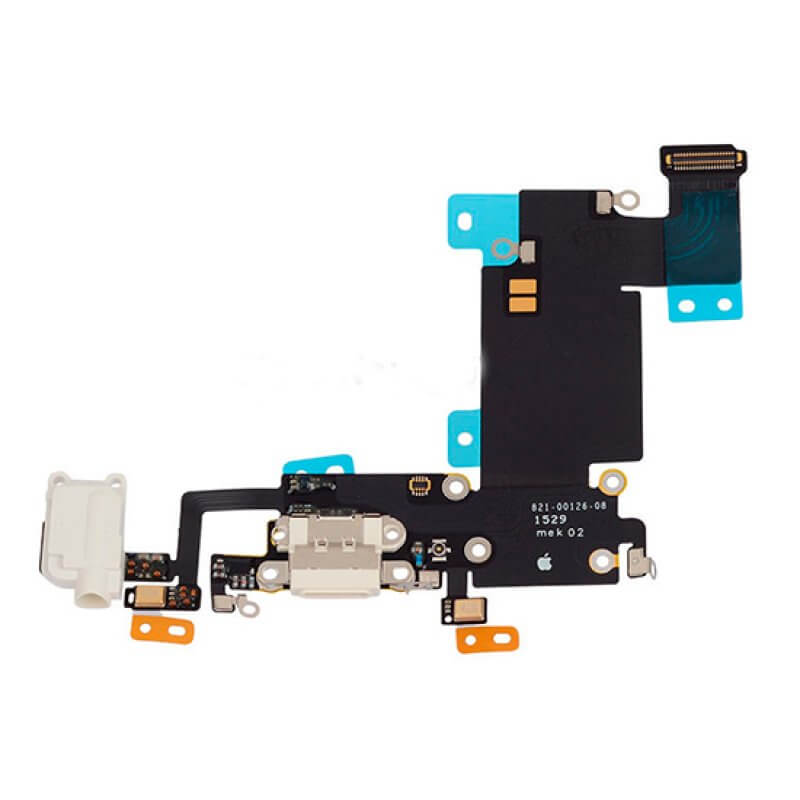 Conetor Carga iPhone 6S - Branco