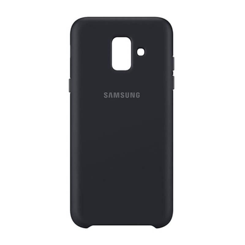 Cover Dual Layer Samsung A6 2018 - Preto