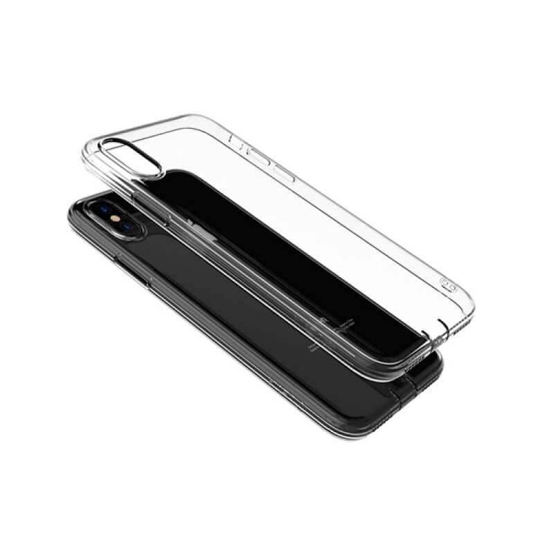 Case Anti-Shock Devia Series iPhone X/Xs - Transparente