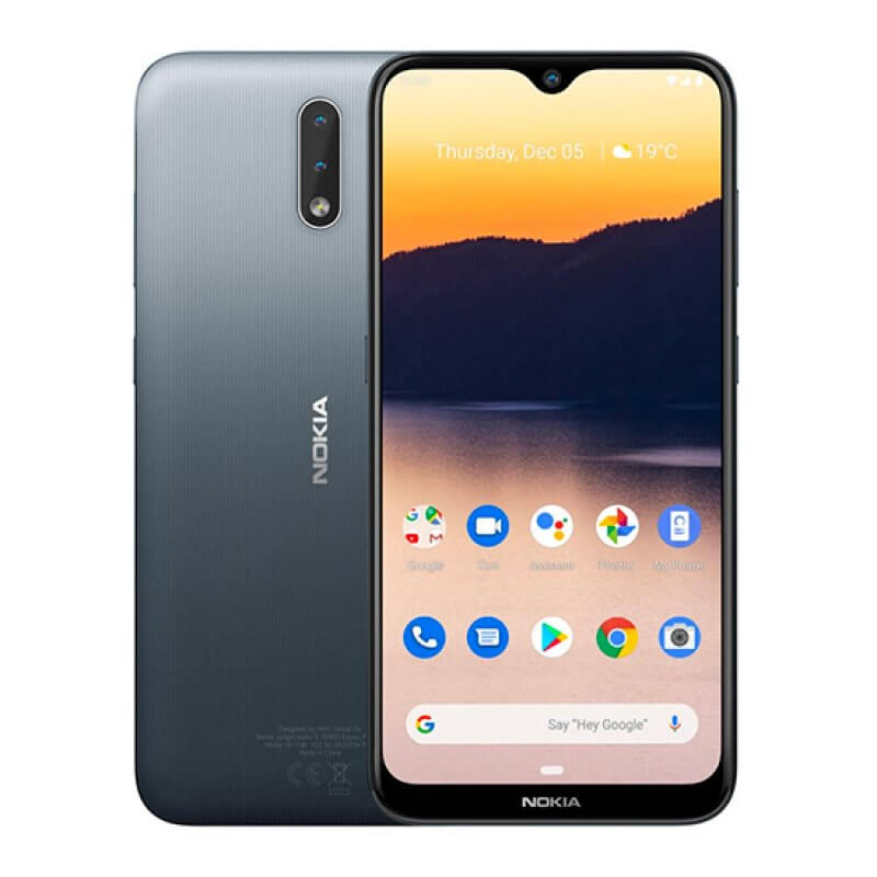Nokia 2.3 2GB/32GB Dual Sim - Cinzento