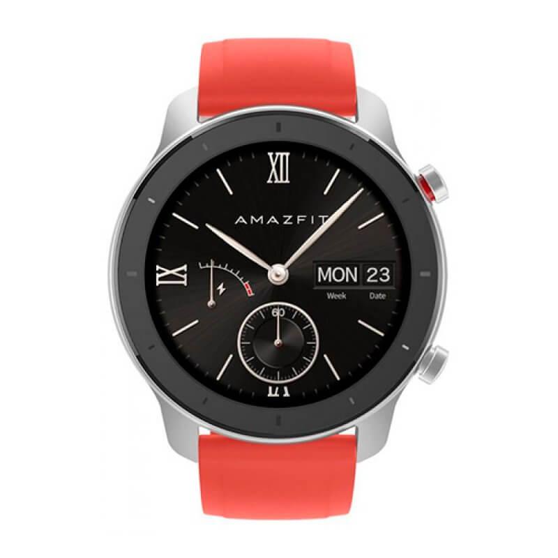 Smartwatch Amazfit GTR 42mm Vermelho