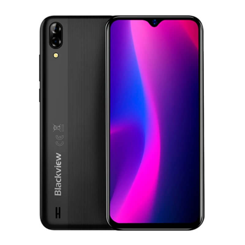 Blackview A60 1GB/16GB Dual Sim - Preto Interestelar