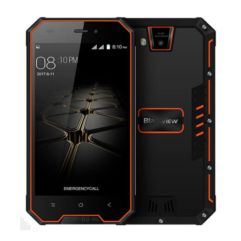 Blackview BV4000 Pro 2GB/16GB Dual Sim - Orange