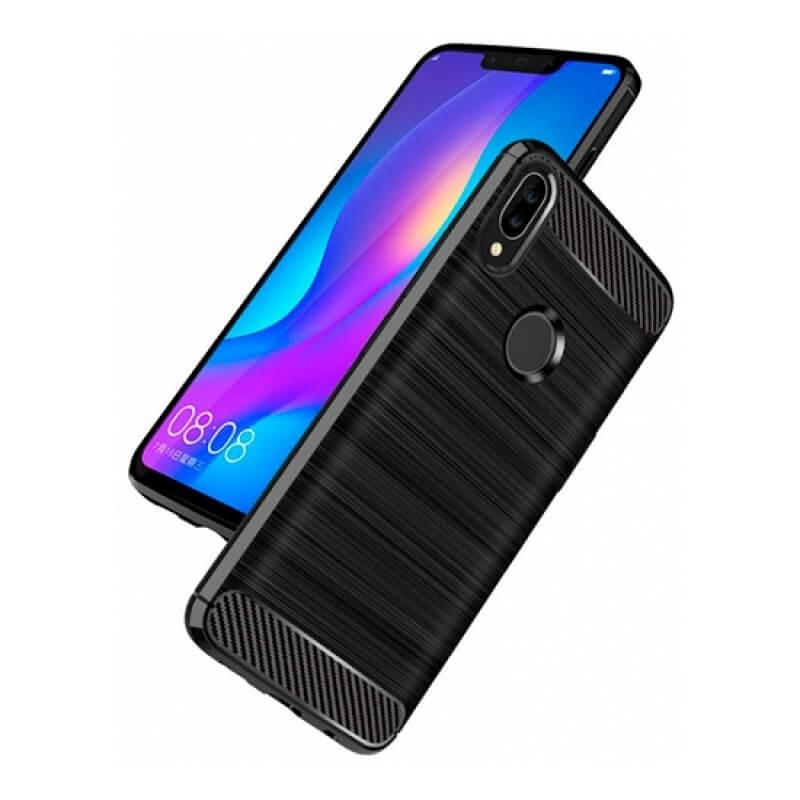 Capa silicone Huawei P Smart Plus 2019 - Preto