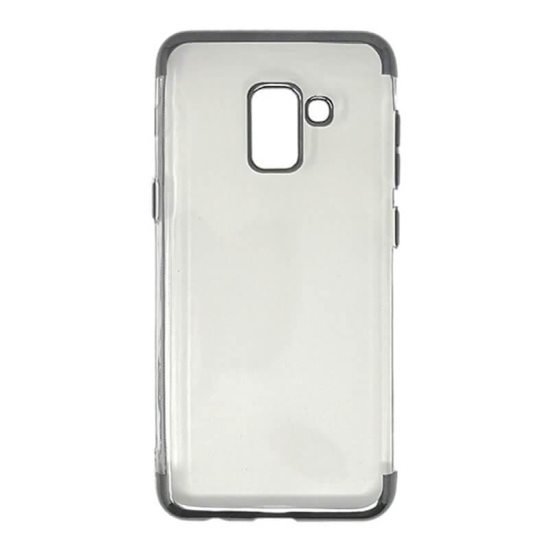 Capa silicone Samsung A8 A530 - Preto