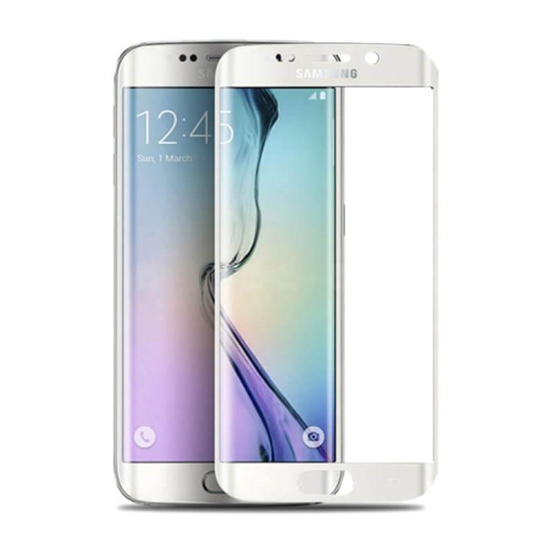 Vidro Temperado Samsung Galaxy S6 Edge Plus - Branco