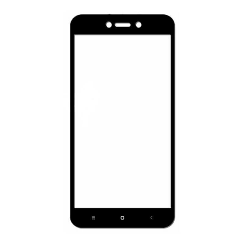 Vidro temperado 6D Xiaomi Redmi Go - Preto