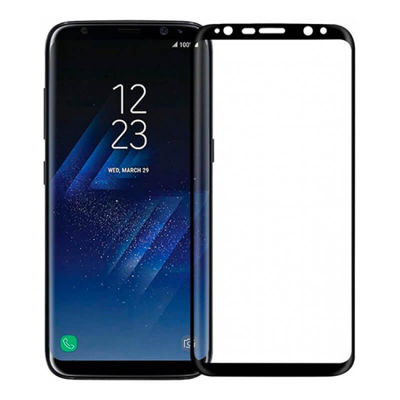 Vidro Temperado 4D Samsung Galaxy S8 Plus G955 - Preto