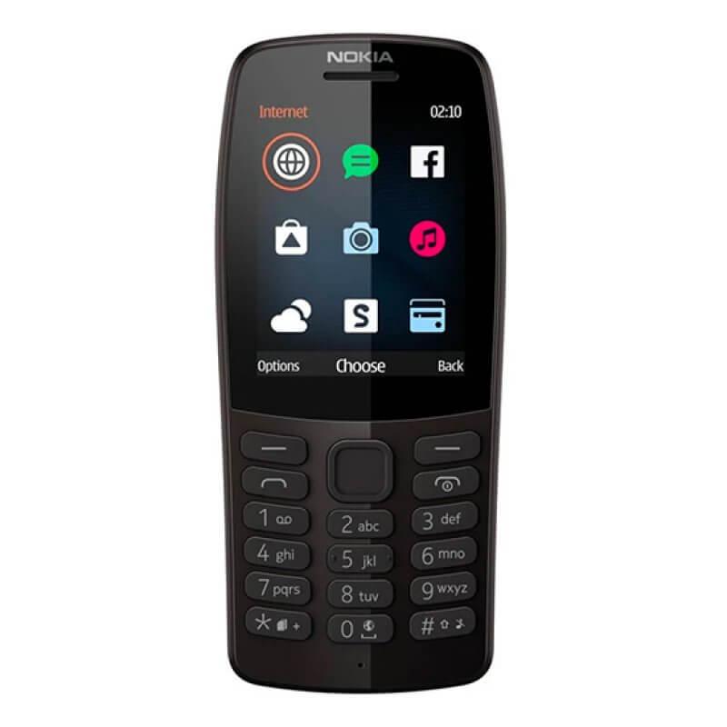 Nokia 210 Dual Sim Preto