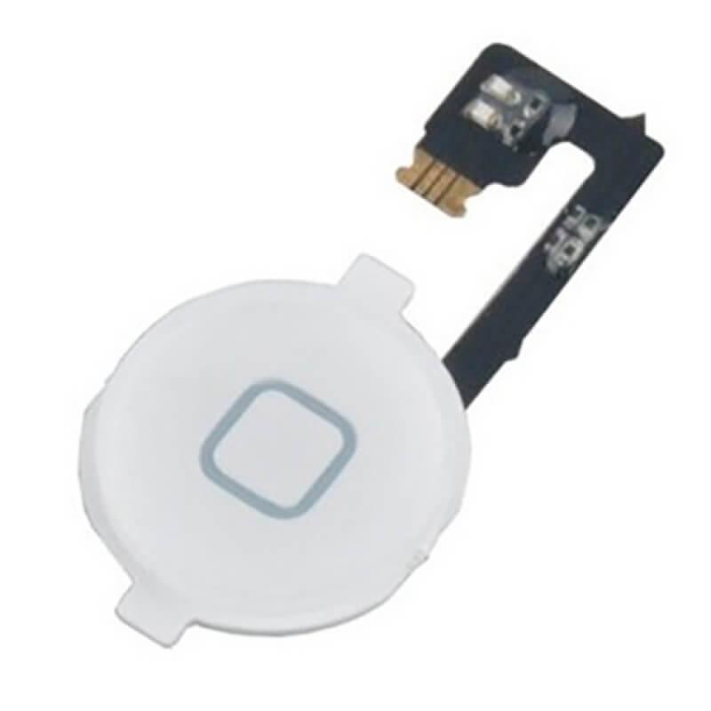 Flex Botão Home Apple iPhone 4 - Branco