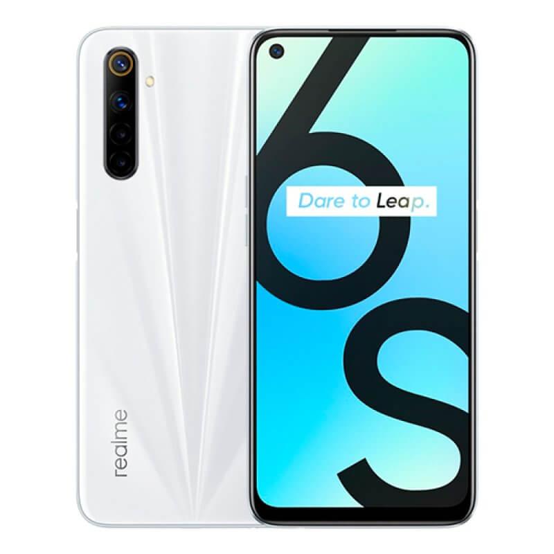 Realme 6S 4GB/64GB Dual Sim Branco Lunar