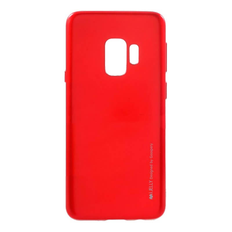 Silicone Mercury i-Jelly Samsung S9 G960 - Vermelho