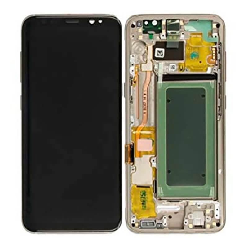 Lcd Samsung Galaxy S8 G950 - Dourado