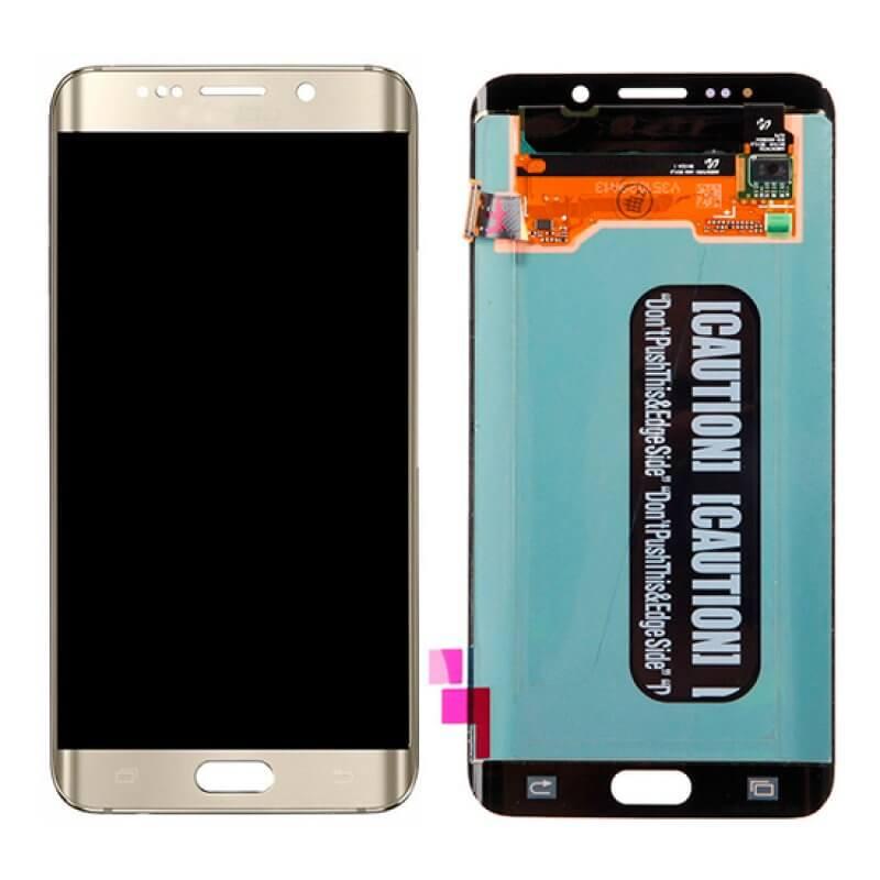 Lcd Samsung Galaxy S6 Edge Plus G928 - Dourado