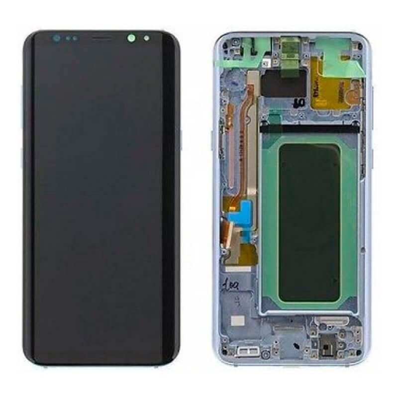 Lcd Samsung Galaxy S8 Plus G955 - Prateado