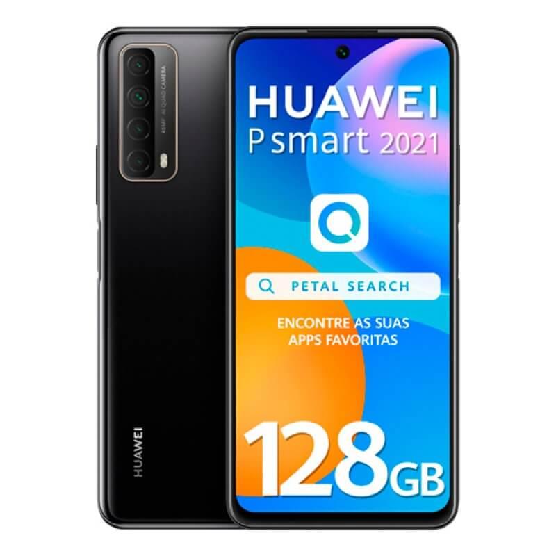 Huawei P Smart 2021 4GB/128GB Dual Sim Preto