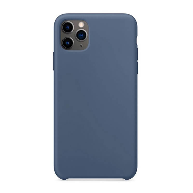 Silicone Cover iPhone 11 Pro Max - Azul