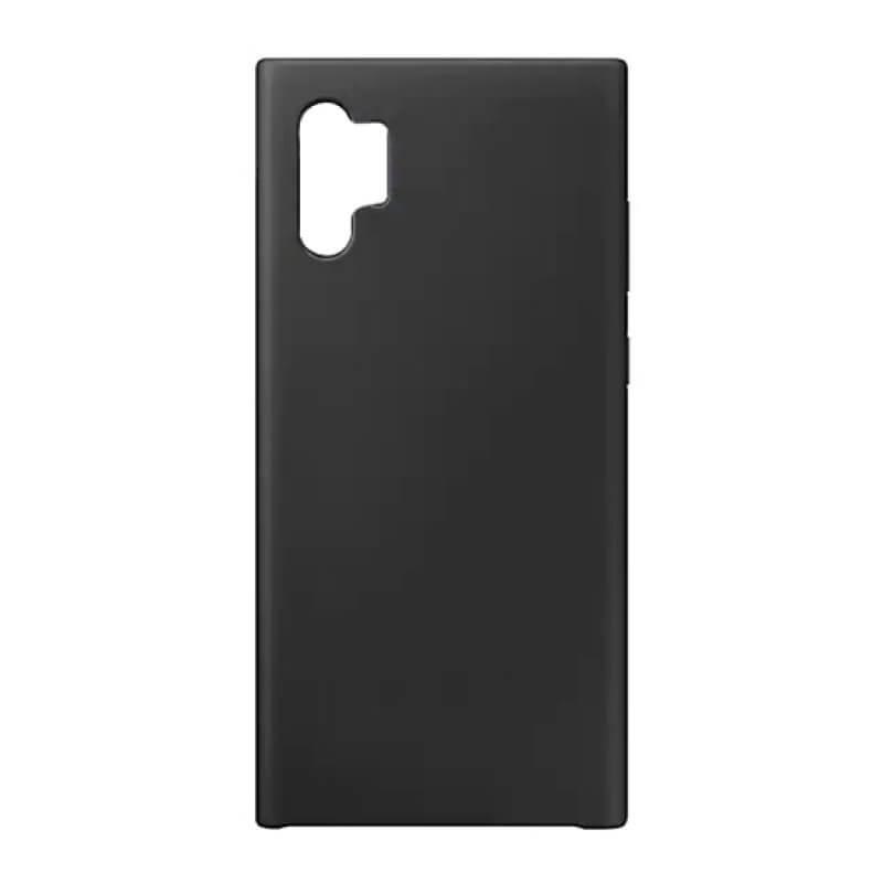 Silicone Cover Samsung Galaxy Note 10 Plus - Preto