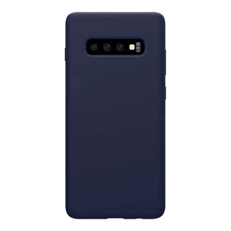 Capa Silicone Samsung Galaxy  S10 Plus - Azul