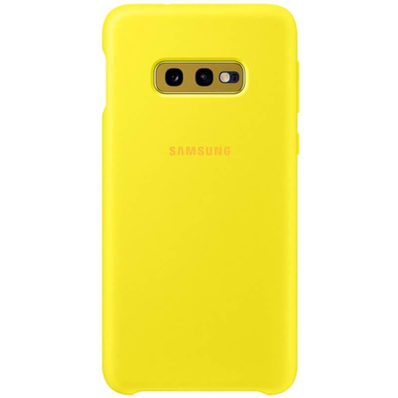 Silicone Cover Samsung Galaxy S10e G970 - Amarelo