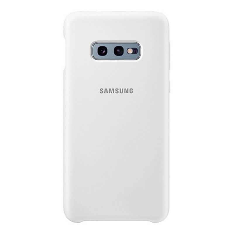 Silicone Cover Samsung Galaxy S10e G970 - Branco
