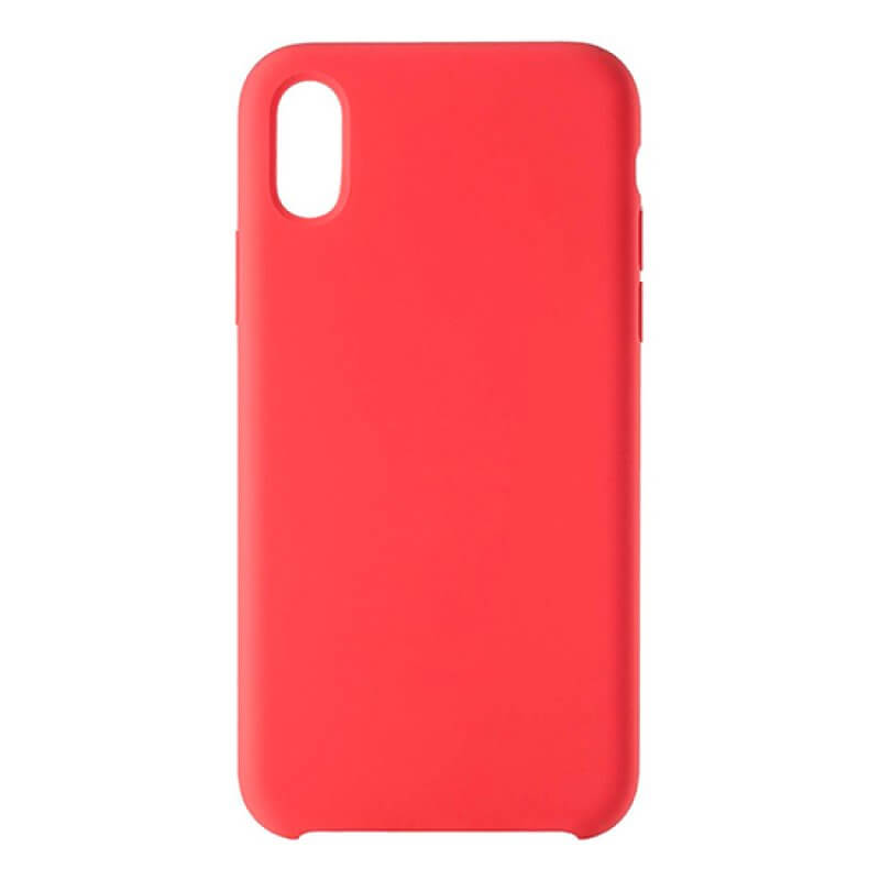 Silicone Nature Case Devia iPhone Xr - Vermelho