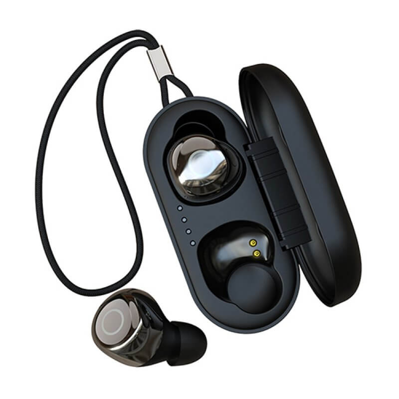 Earphones Joypods Devia TWS Wireless Earphone V2 Preto