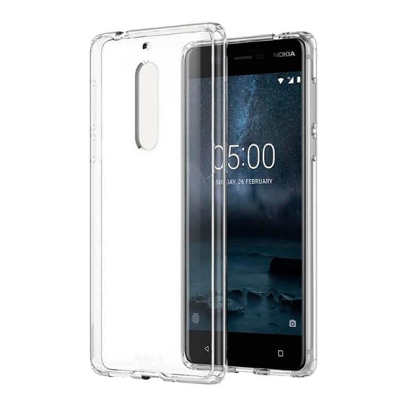 Hybrid Cristal Case Nokia 5 - Transparente