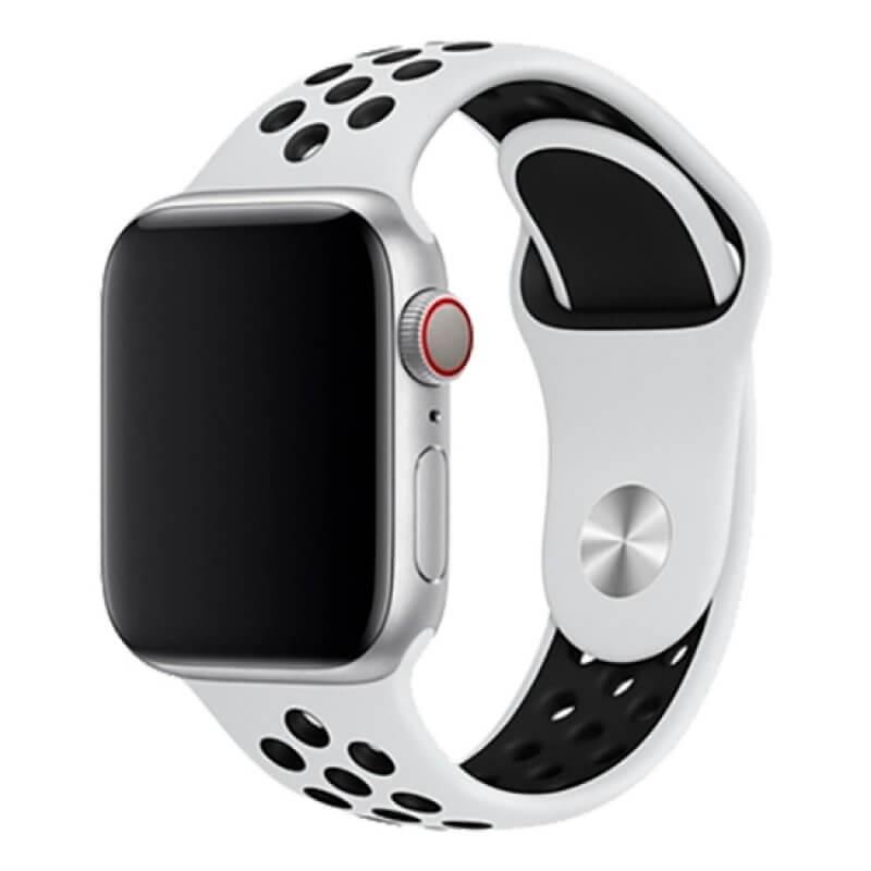 Bracelete Apple Watch 40mm Deluxe DEVIA Sport2 Band Branco