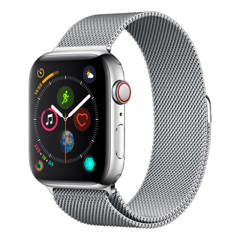 Bracelete Apple Watch 40mm Elegant Devia Milanese Loop - Prateado
