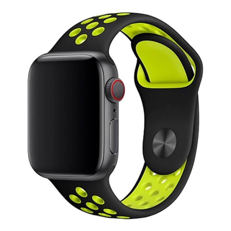 Bracelete Apple Watch 40mm Deluxe Devia Sport2 Band - Amarelo