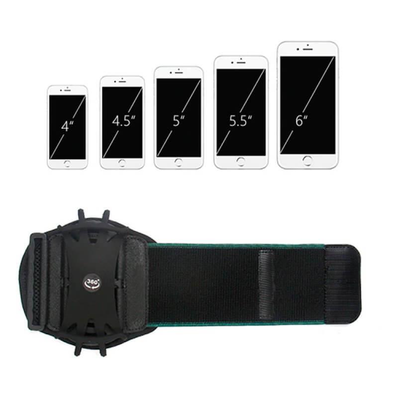 Braçadeira Desportiva 360º Devia Wristband
