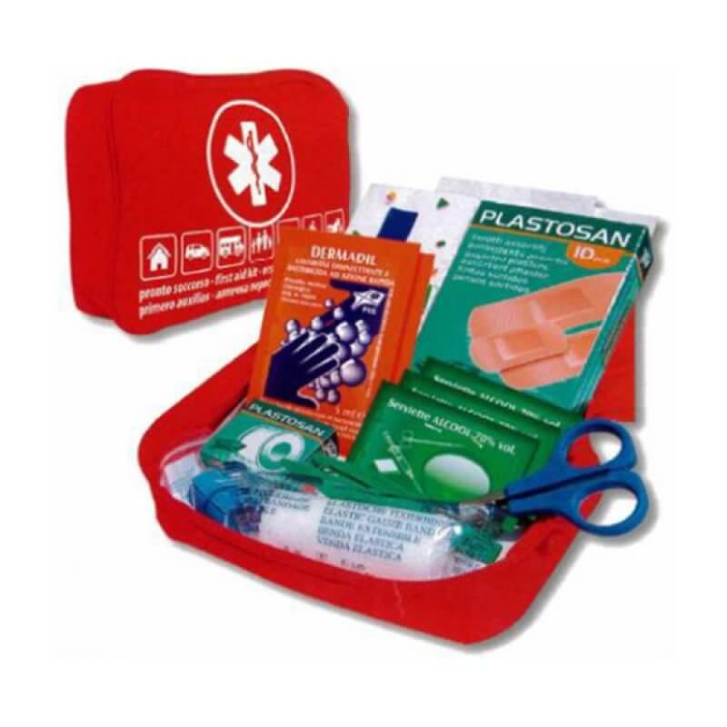 Kit primeiros Socorros Soft  Bag