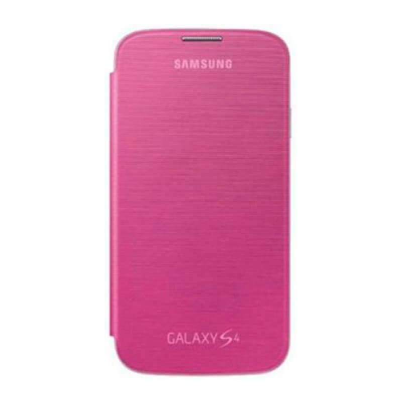 Flip Cover Samsung S4 i9505 - Rosa